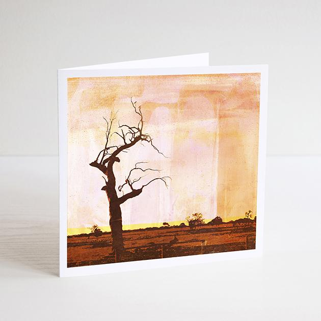 Braw Paper Co Greeting Card - Scorched Earth