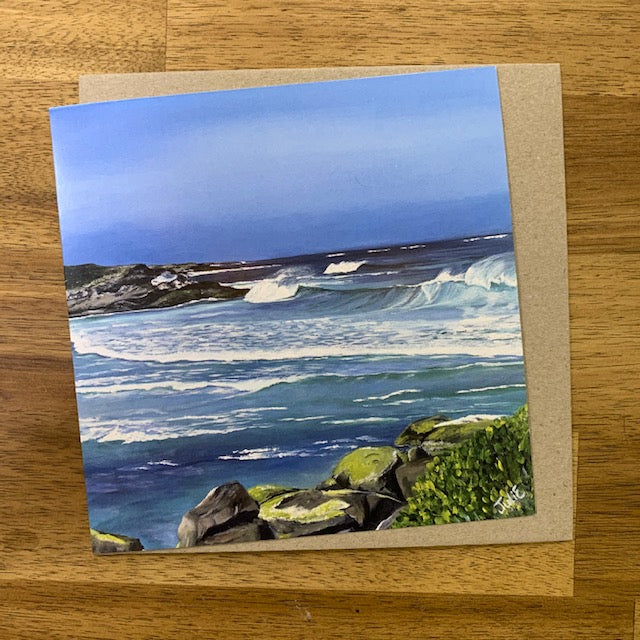 Julie Eaton Greeting Card - Redgate Beach - Western Australia