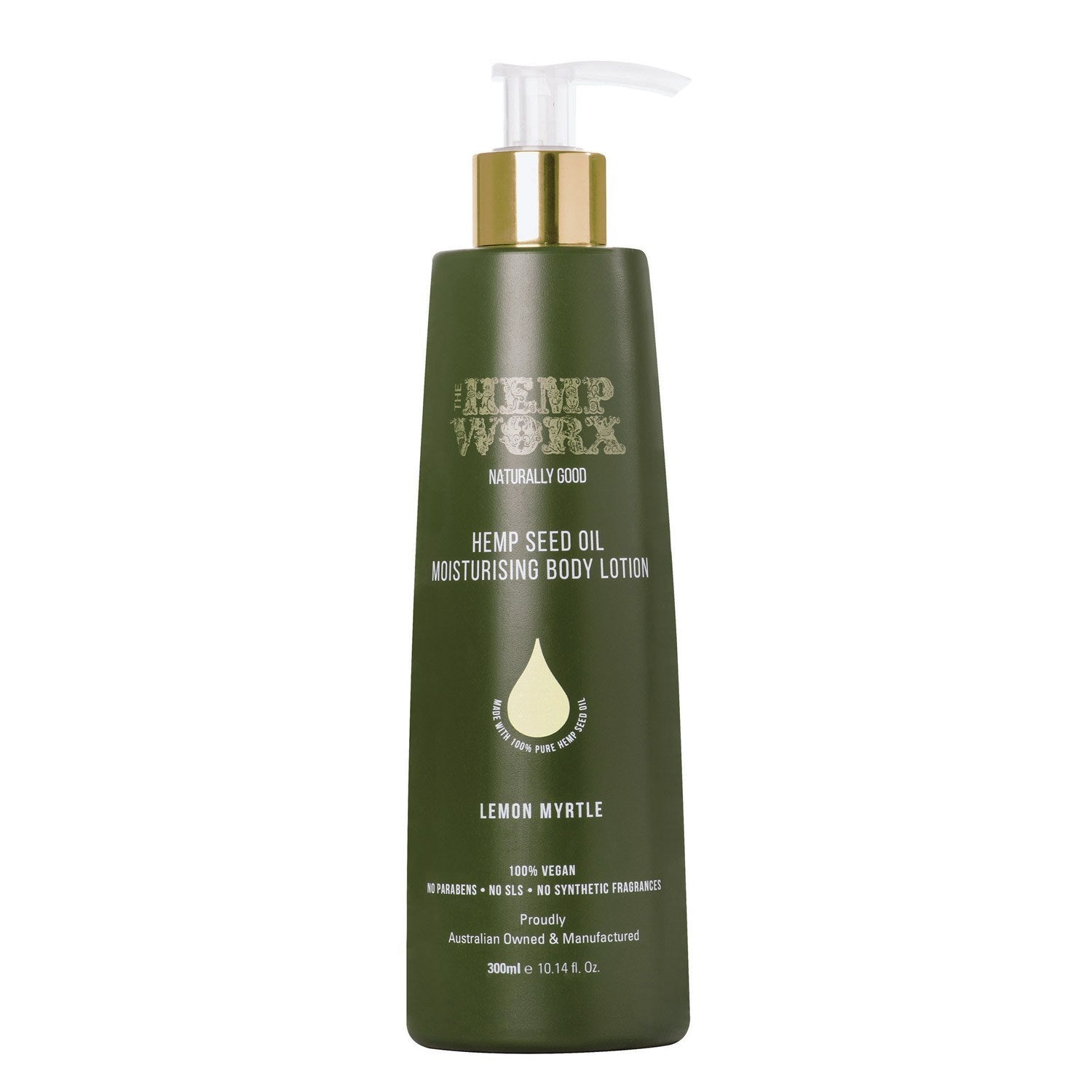 Hemp Worx - Body Lotion (Lemon Myrtle)