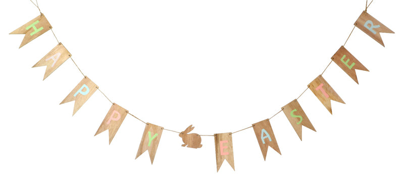 Wooden Easter Garland