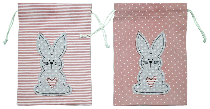 Fabric Easter Drawstring bag