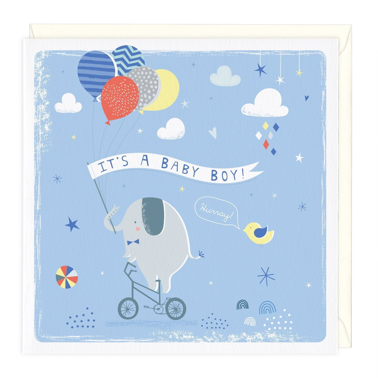 Whistlefish Greeting card - Baby Boy