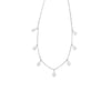Jolie and Deen - Teardrop necklace (silver)