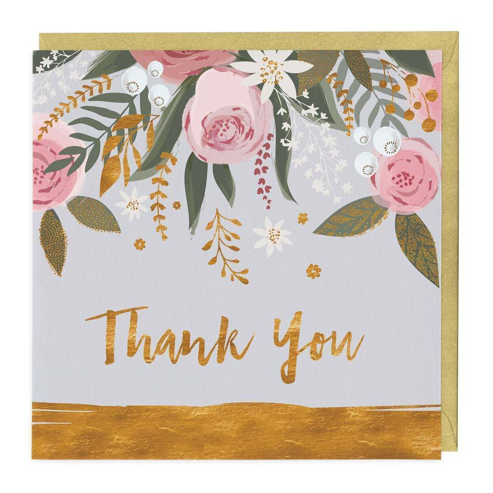Whistlefish Greeting card - Thank you