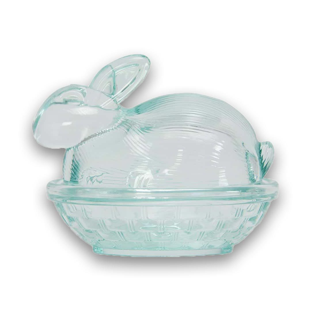 Glass Easter Bunny