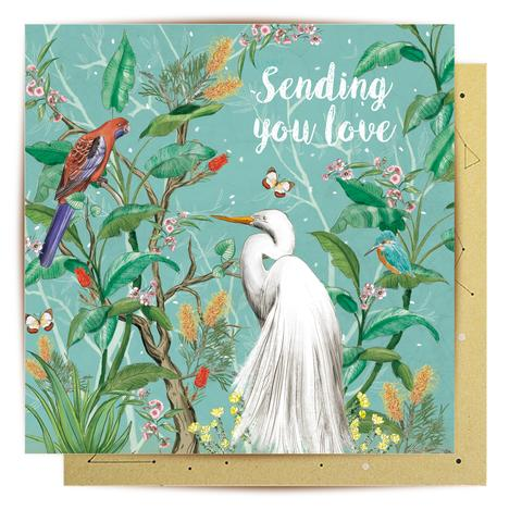 La La Land Greeting Card - Sending You Love