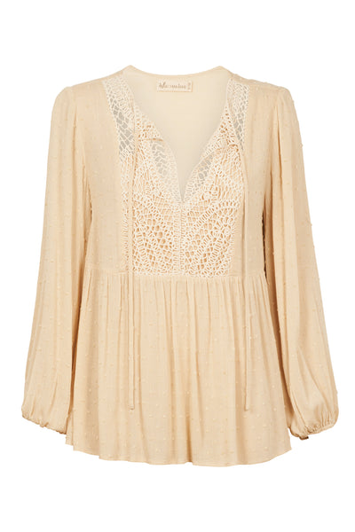 Isle of Mine - Lover Blouse (Ivory)