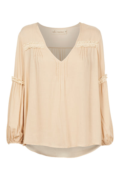 Isle of Mine - Dawn Lace Blouse (Ivory)