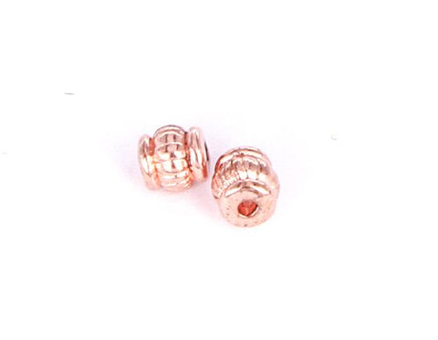 J054 Tunnor 5x5 mm. Rosé. 20 st