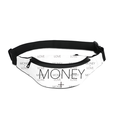 Money + Love Cross Body Sling Bag