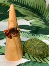 Load image into Gallery viewer, Smokey Quartz, Unakite, Red Jasper Ring Size 8