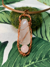 Load image into Gallery viewer, Rose Quartz Love Pendant