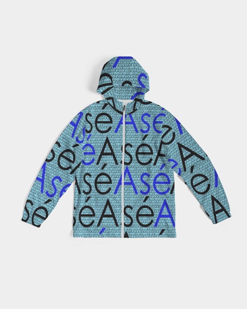 Asé Blue Remix Unisex Windbreaker