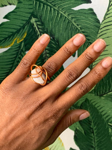 California Sea Shell Ring Size 6