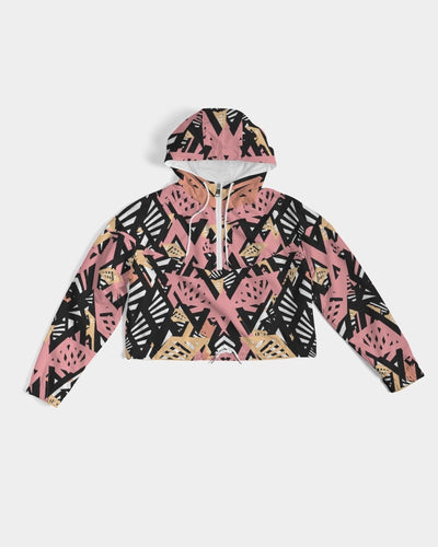 "Crop Wind Breaker ""Peachy"""