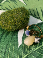 Load image into Gallery viewer, Citrine, Sodalite, Smokey Quartz Ring