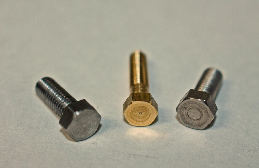 Model Hex Cap Screws - Steel - Screw Sizes 5-40, 6-32, 8-32, 10-32