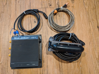 Pre-Owned Lowrance Transducers and Accessories
