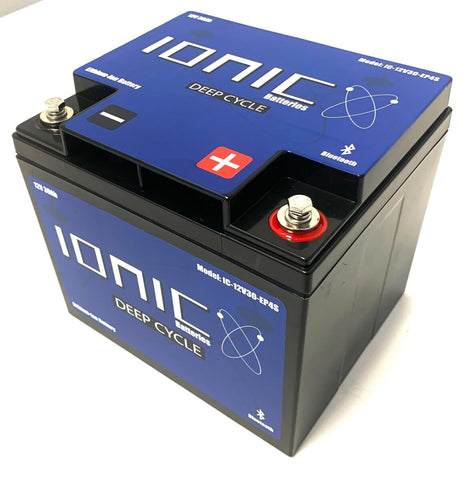 Ionic 12 Volt 30Ah Deep Cycle Lithium Battery