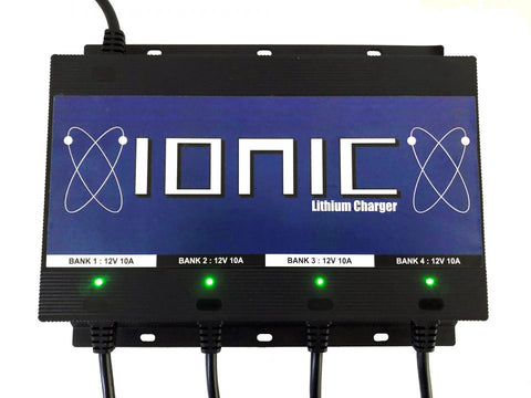 Ionic Lithium 4 Bank Charger