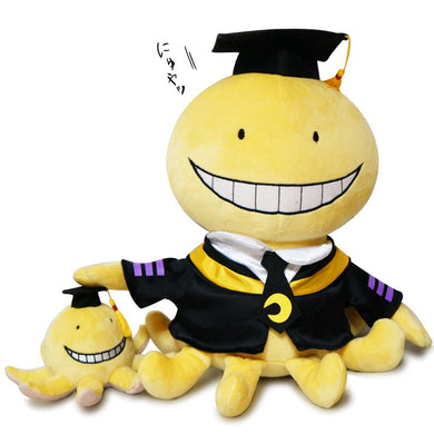 Lot de 2 Peluches Assassination Classroom de 30 cm et 9 cm
