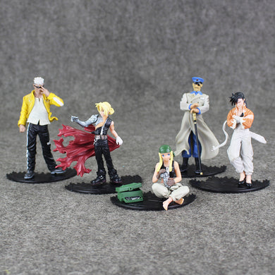Ensemble de 5 Figurines entre 5-12 cm