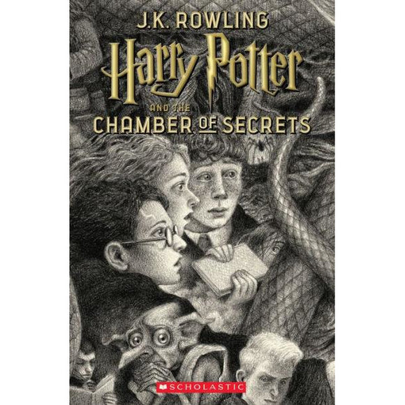 Harry Potter and the Chamber of Secrets (Harry Potter Series Book #2)