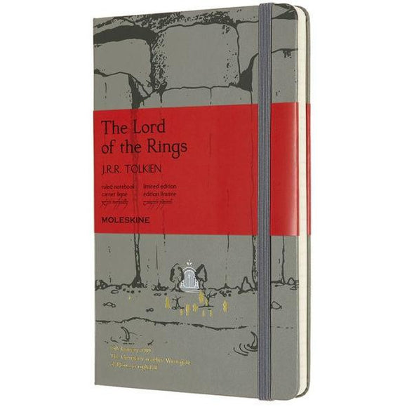 Moleskine Limited Edition Notebook, Lord of the Rings, Moria, Large with Ruled page