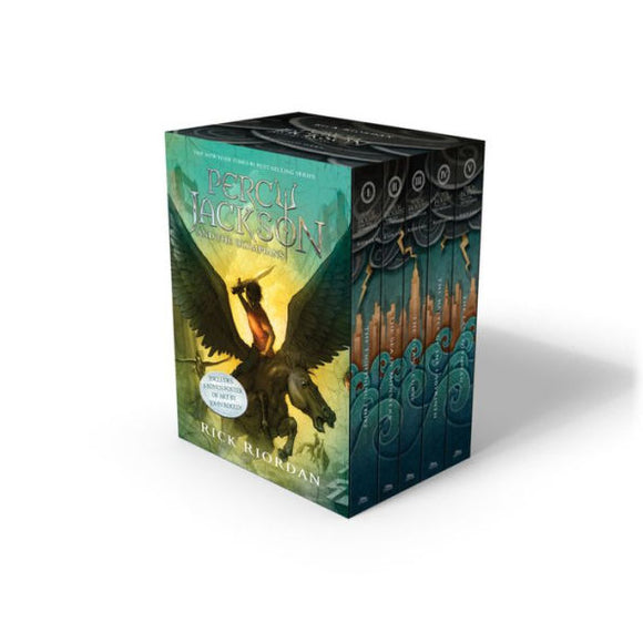 Percy Jackson and the Olympians (5 Book Paperback Boxed Set)