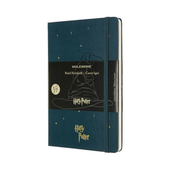 Moleskine Limited Edition Notebook Harry Potter, Large, Ruled, Book 1, Tide Green (5 x 8.25)