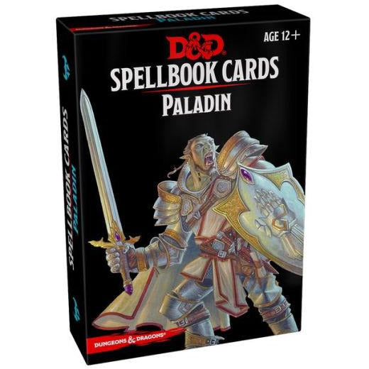 Dungeons & Dragons: Spellbook Cards - Paladin