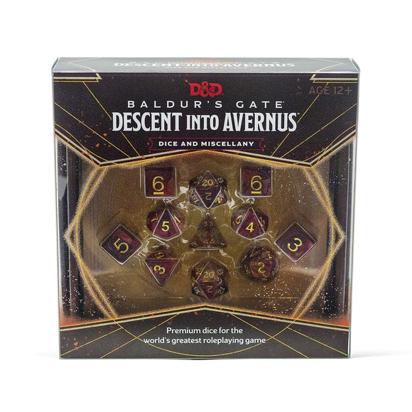 Dungeons & Dragons Baldur's Gate: Descent into Avernus Dice & Miscellany