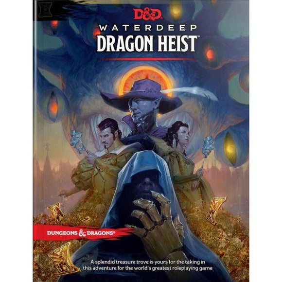 Dungeons & Dragons: Waterdeep Dragon Heist - Quarky Toys