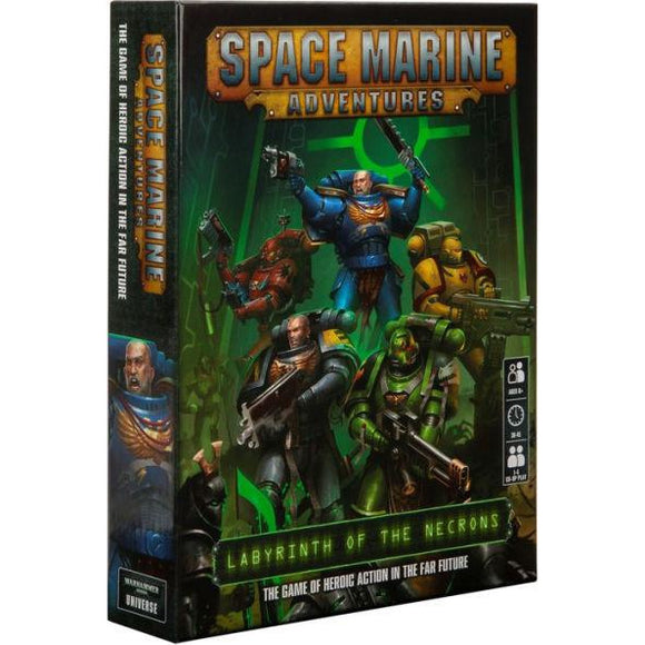 Space Marine Adventures - Labyrinth of the Necron