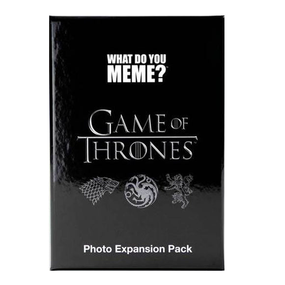 What Do You Meme? Game of Throne Expansion