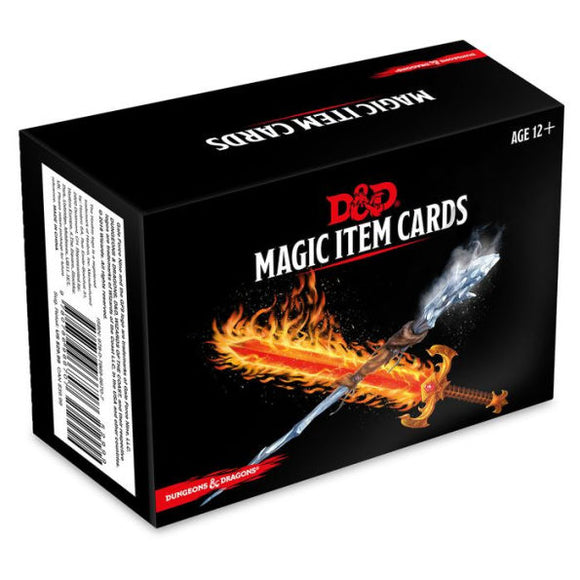 Dungeons & Dragons: Spellbook Cards - Magic Items - Quarky Toys