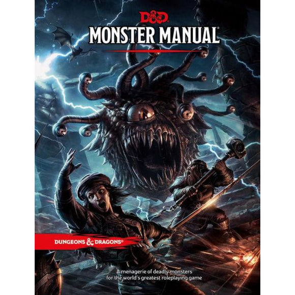 Dungeons & Dragons: Monster Manual - Quarky Toys