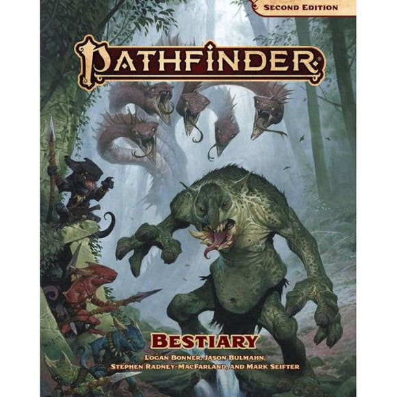Pathfinder Bestiary (2nd Edition)