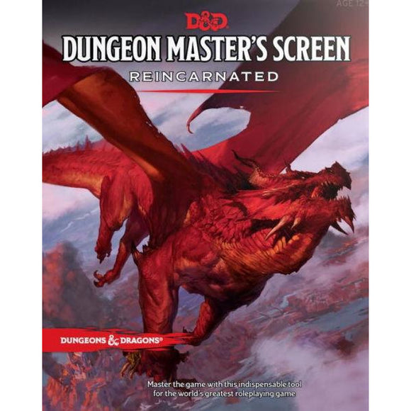 Dungeons & Dragons: Dungeon Master's Screen Reincarnated - Quarky Toys