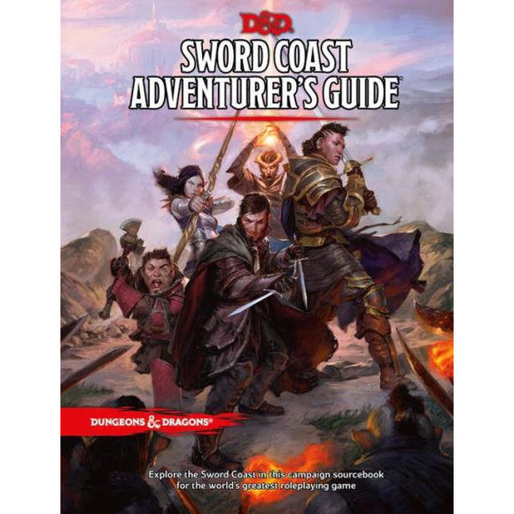 Dungeons & Dragons: Sword Coast Adventurer's Guide - Quarky Toys