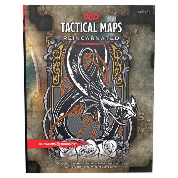 Dungeons & Dragons Tactical Maps Reincarnated - Quarky Toys