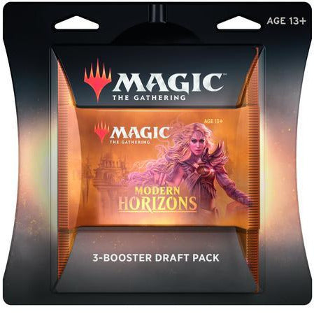 Magic: The Gathering Modern Horizons Draft Pack - 3 Booster Packs (45 Cards)