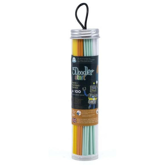 3Doodler Filament Tube Fire and Ice in Tube -100 strands