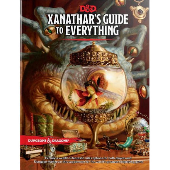 Dungeons & Dragons: Xanathar's Guide to Everything - Quarky Toys