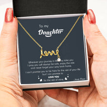 Load image into Gallery viewer, Love You for The Rest of My Life Necklace(Mom to Daughter)