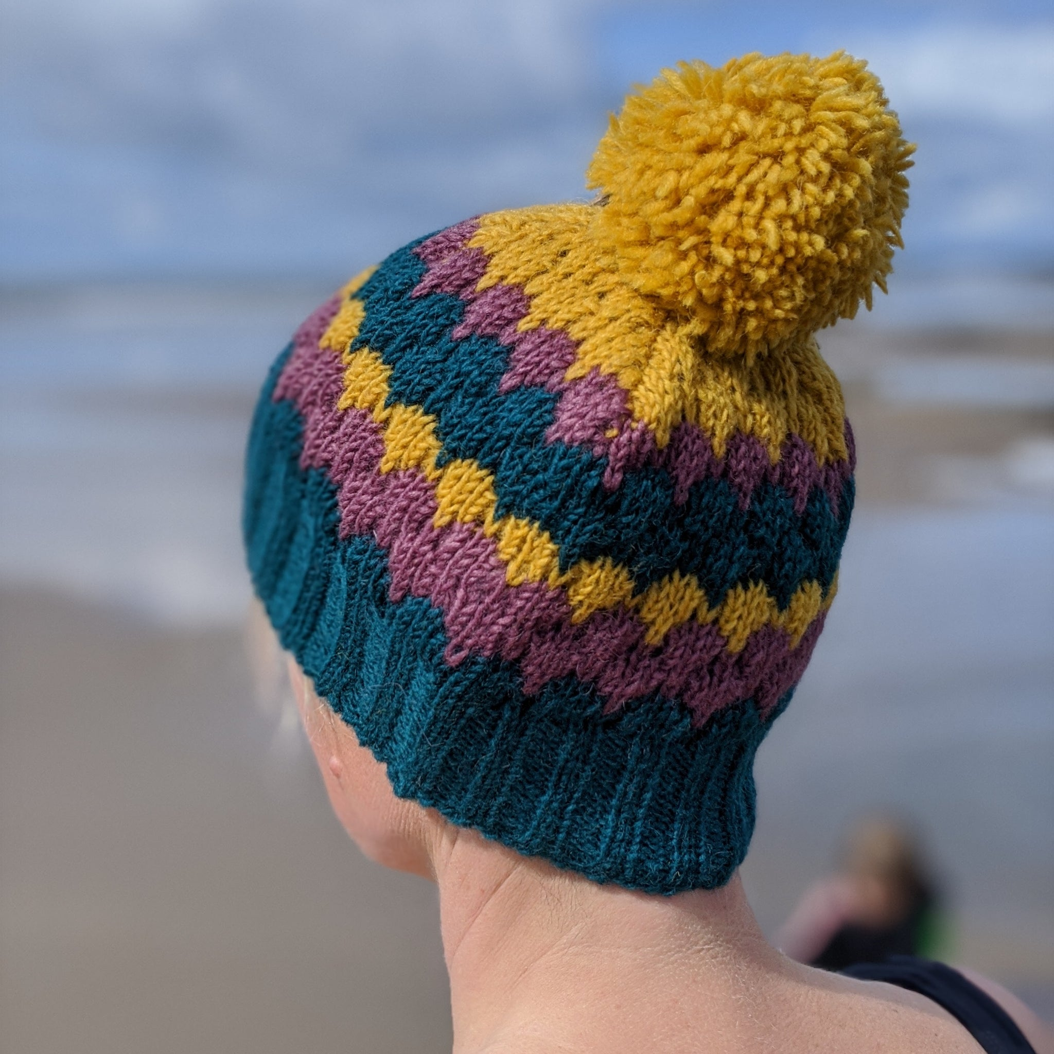 Woolly bobble hat