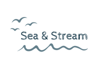 Sea & Stream wild swimming shop logo