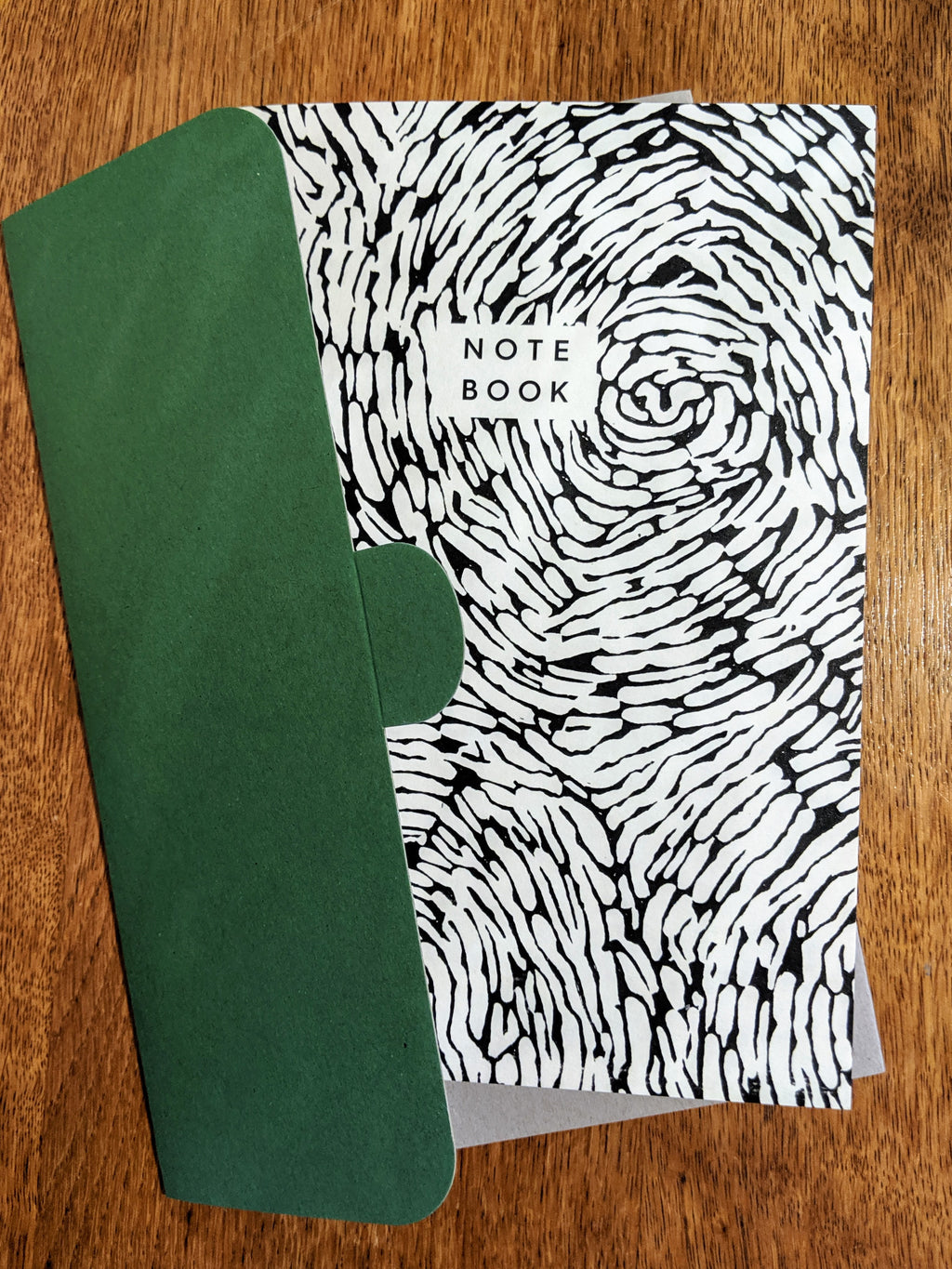 Recycled Paper Notebook - whirl