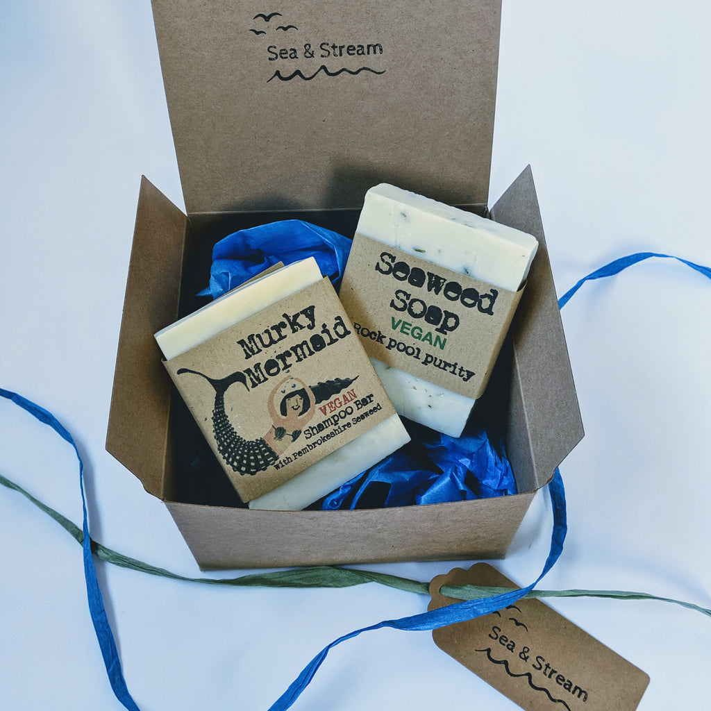 Gift set - The plastic free wash (vegan)