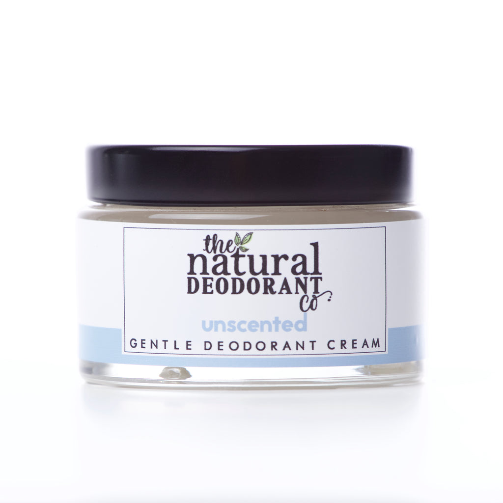 Gentle natural deodorant cream unscented